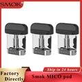 Оригинальный 3 шт./упак. SMOK Mico pod емкость 1 7 мл с сопротивлением 0 8ohm 1 0ohm 1 4ohm катушки подходят для SMOK Mico Pod vape kit