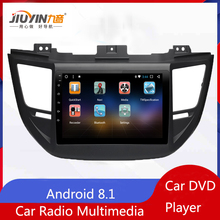 JIUYIN 1G+16G Android 8.1 Car DVD  Tucson Radio Multimedia No 2 Din Video Player