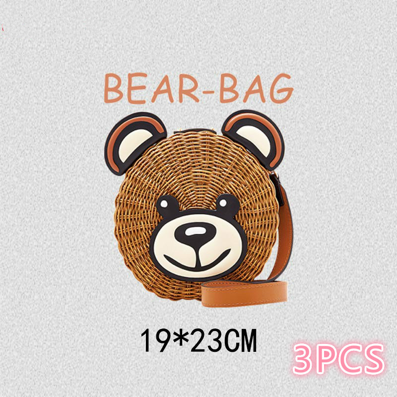 Packaged Bear Hot Transfer Hot Hot Map Trend Section Ko-style Clothing