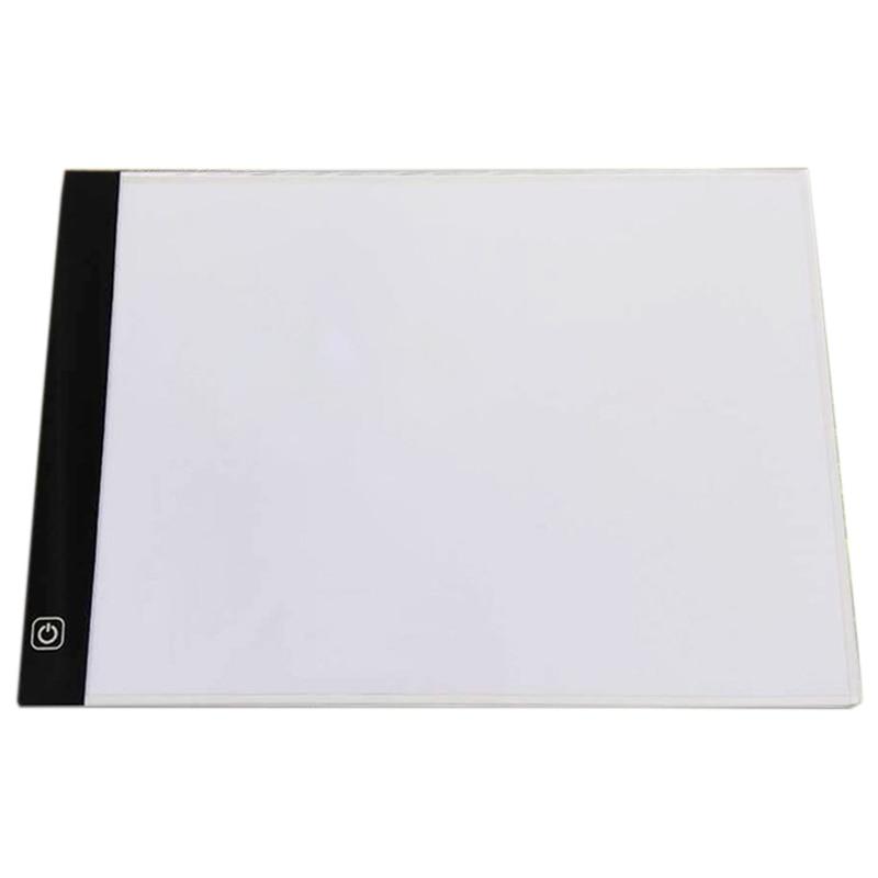 Fashion-Digital Tablet A4 Led Artist Thin Art Stencil Drawing Board Light Box Tracing Table Pad Diamond Painting Accessories