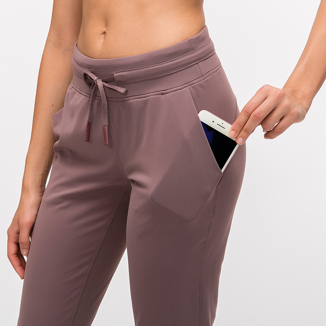 Naked-feel Fabric Workout Joggers Pants