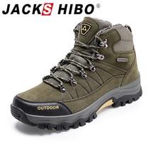 Sneakers Hiking-Shoes Jackshibo Upstream Mountaineer Climbing Outdoor Male Men's Warm