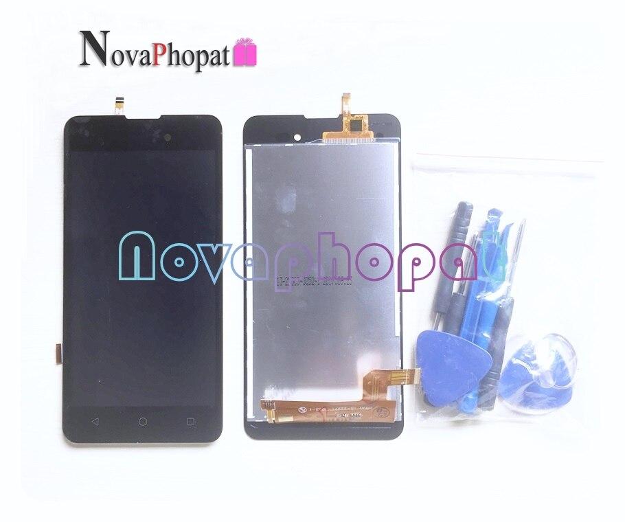 Image 2 - Novaphopat 黒画面 Bq 5035 BQ 5035 ベルベット BQS 5035  タッチスクリーン液晶ディスプレイフルアセンブリの交換 - AliExpress   グループ上の 携帯電話