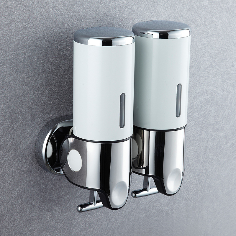Image 3 - 500ml Liquid Soap Dispenser Wall Mount Bathroom Accessories Hand  Sanitizer Detergent Shampoo Dispensers Kitchen Soap BottlePortable Soap  Dispensers