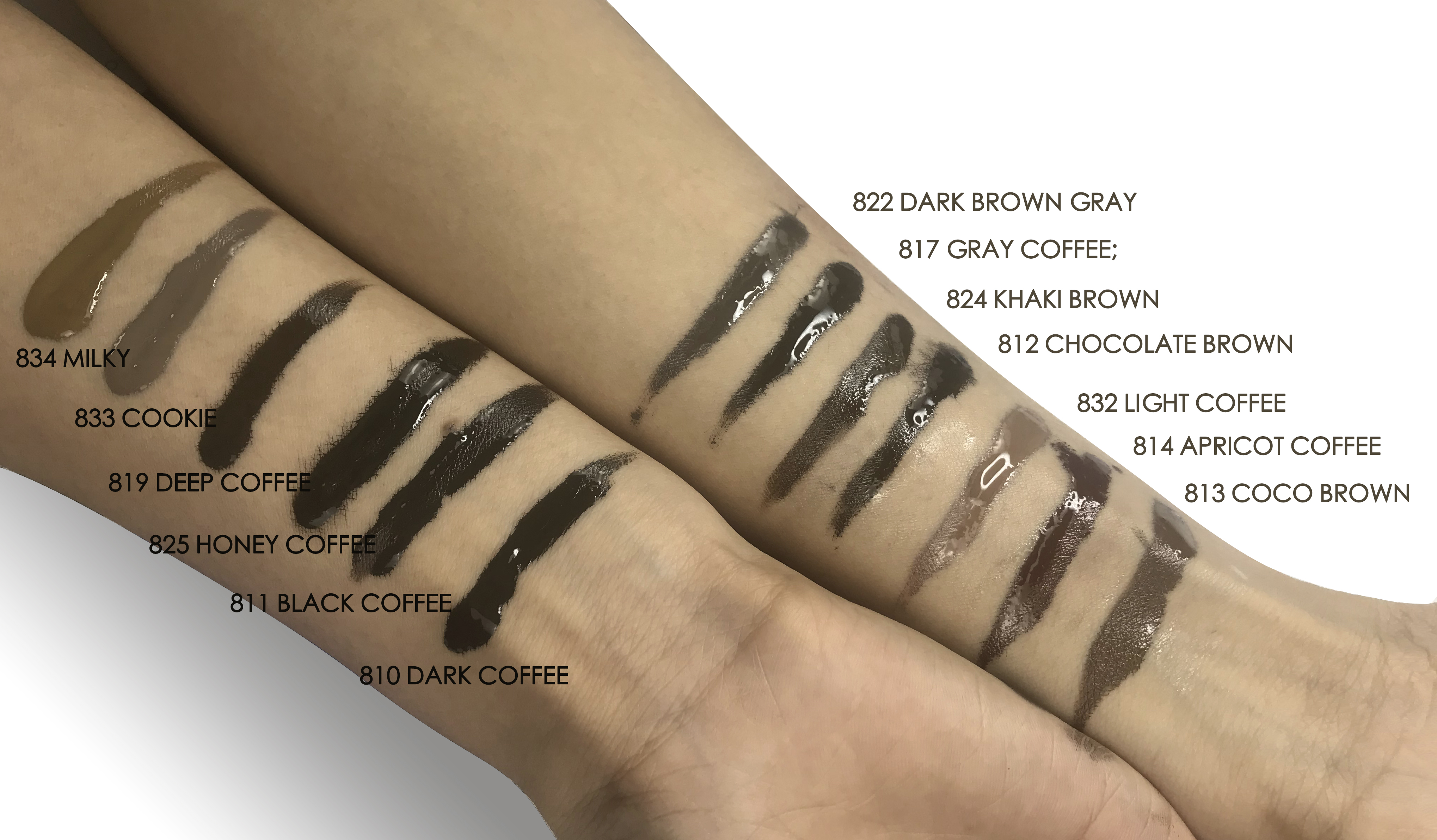 Купить с кэшбэком 3ml X 3 bottles Aimoosi Lip&Eyebrow Pigment samples for Permanent makeup Tattoo Microblading eyebrow,lips eyelines tattoo ink