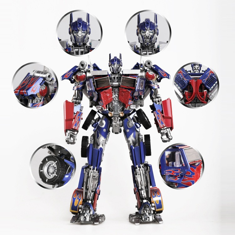 Transformer Toy Black Mamba LS-<font><b>03</b></font> Movie Magnification Alloy Edition Optimus Prime <font><b>MPM</b></font> 04 image