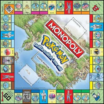 Tomy Pokemon Monopoly Pokemon All English Board Game Board card Game Family gathering christmas present 2
