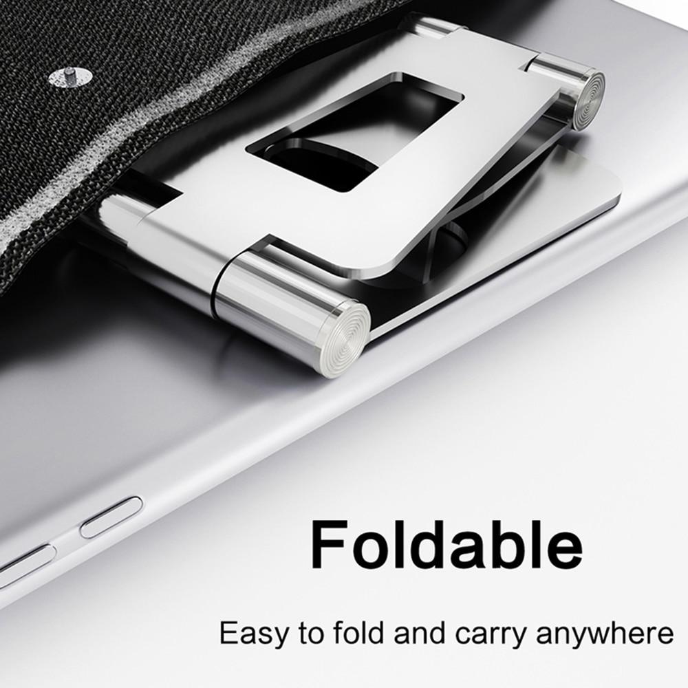 Suporte do telefone universal e-reader tablet titular liga de alumínio desktop suporte do telefone móvel para iphone ipad samsung huawei xiaomi 3
