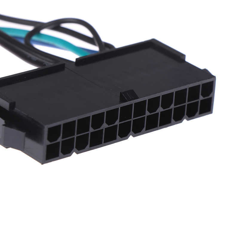 Gorąca sprzedaż 24-Pin żeńskie do 10-Pin męski Adapter przewód zasilający dla Lenovo 10PIN płyta główna 10cm