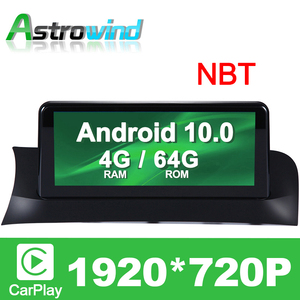 "10.25"" 4G RAM 8 Core Android 10.0 Auto Player GPS Navigation System Media Stereo For BMW X3 F25 for BMW X4 F26 with NBT System(China)"