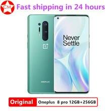 Smartphone oneplus 8 pro 5g 8gb + 128gb, celular com snapdragon 865, tela amoled fluída de 6.78