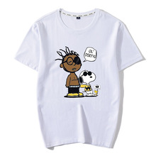 New 100%Cotton Ol Dirty Bastard Men T Shirt Inspiration Summer Wu Tang clan ODB shirt wu wear Aesthetic Streetwear Tops