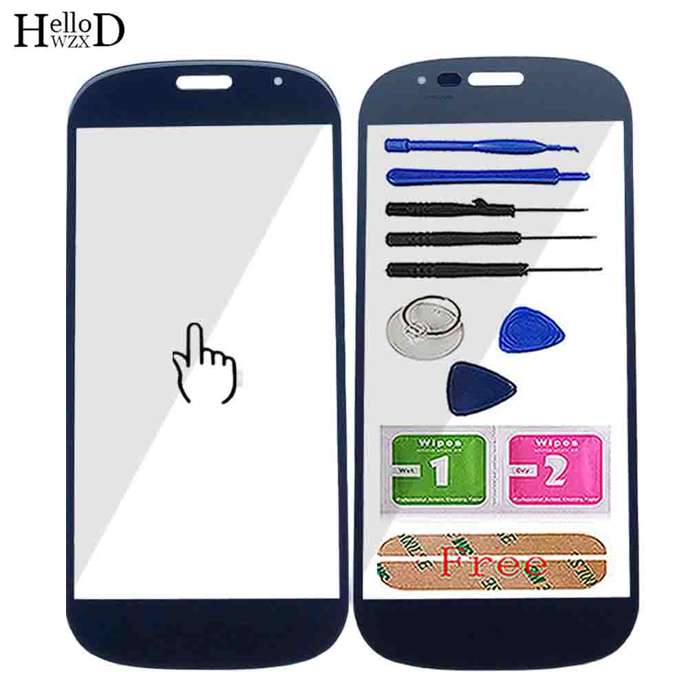 Mobile Front Outer Glass For Yotaphone 2 YD201 Front Touch Screen Outer Glass Panel Tools Accessories