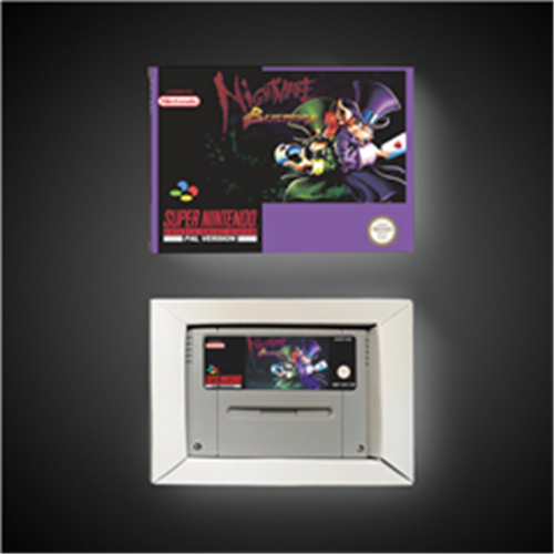 Nightmare Busters   EUR Version Action Game Card with Retail Box