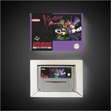 Nightmare Busters tarjeta de juego de acción versión europea con caja de venta al por menor