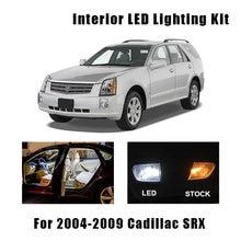 Kit de 15 ampoules lampes dôme | Modèle interne de voiture, en Canbus blanc, pour 2004 2005 2006 2007 2008 Cadillac SRX plaque d'immatriculation