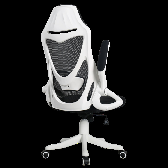 Simple Style Rotated E-sports Gaming Chair Lifted Reclining Office Chair Adjustable Multi-function Nylon Feet Computer Chair