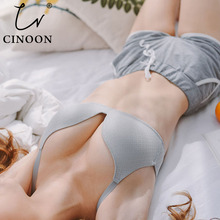 CINOON Sexy Gather Bras For Women Push Up Lingerie Seamless Bra Wire Free Bralette Backless Plunge Intimates Female Underwear