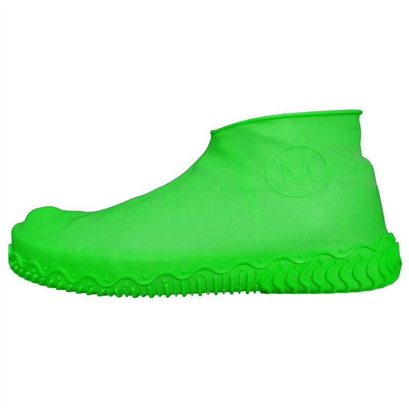 Unisex Wear Resistant Waterproof Shoe Protector Made of Silicone Material with a Non Slip Textured Sole for Outdoor in Rainy Days 14