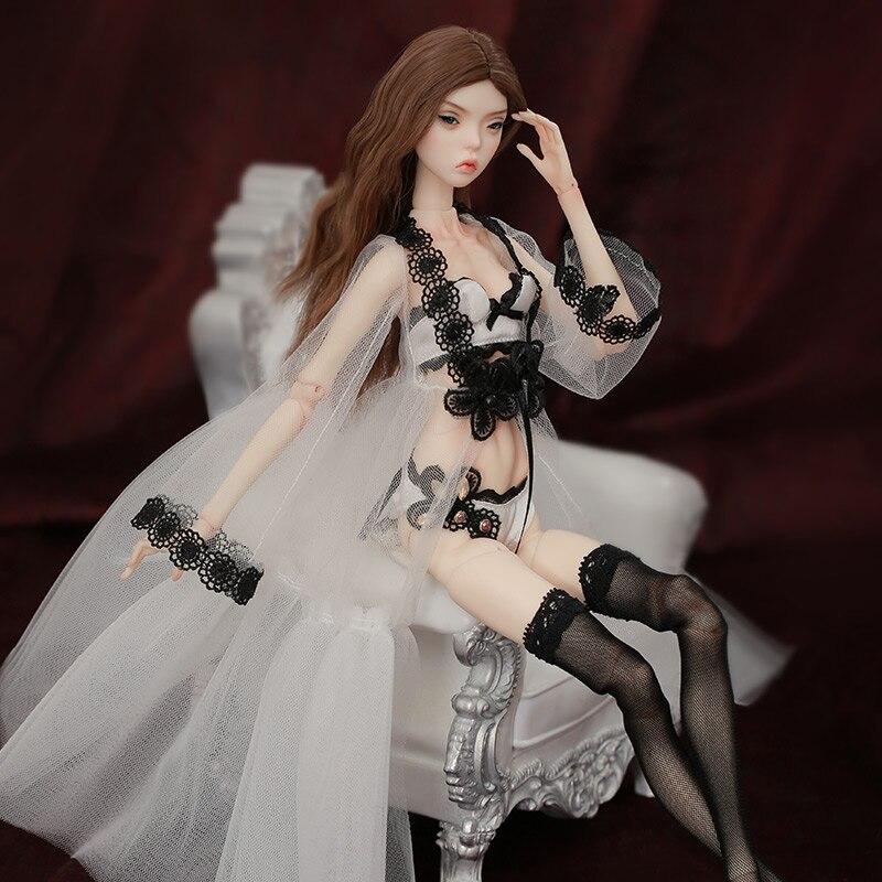 Shuga Fairy 1/4 Phyllis FreedomTeller BJD кукла подвижные суставы полный набор профессиональных макияжных игрушек для девочек подарок 3