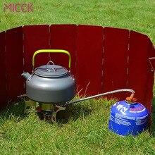 MICCK кофейник из нержавеющей стали, горшок для походов, плита для чая, чайник для воды, эспрессо, Перколятор, 0.8л/1.2л, Кофеварка