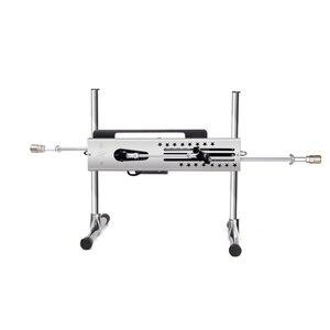 Image 4 - Ensemble grand pistolet sexuel, Machine à vibrateur à coup de 15cm 120W, Kit dextension pour Masturbation des Couples et support AV pour gode