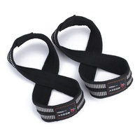 Figure 8 Weight Lifting Straps Wrist Strap for Pull ups Horizontal Bar Powerlifting Belt For Gym Fitness Bodybuilding WW4