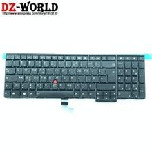 Новые с усилителем магнетронного типа канадский французский клавиатура для lenovo Thinkpad P50S T560 W540 T540P W541 T550 W550S L540 L560 Teclado 04Y2349 04Y2427