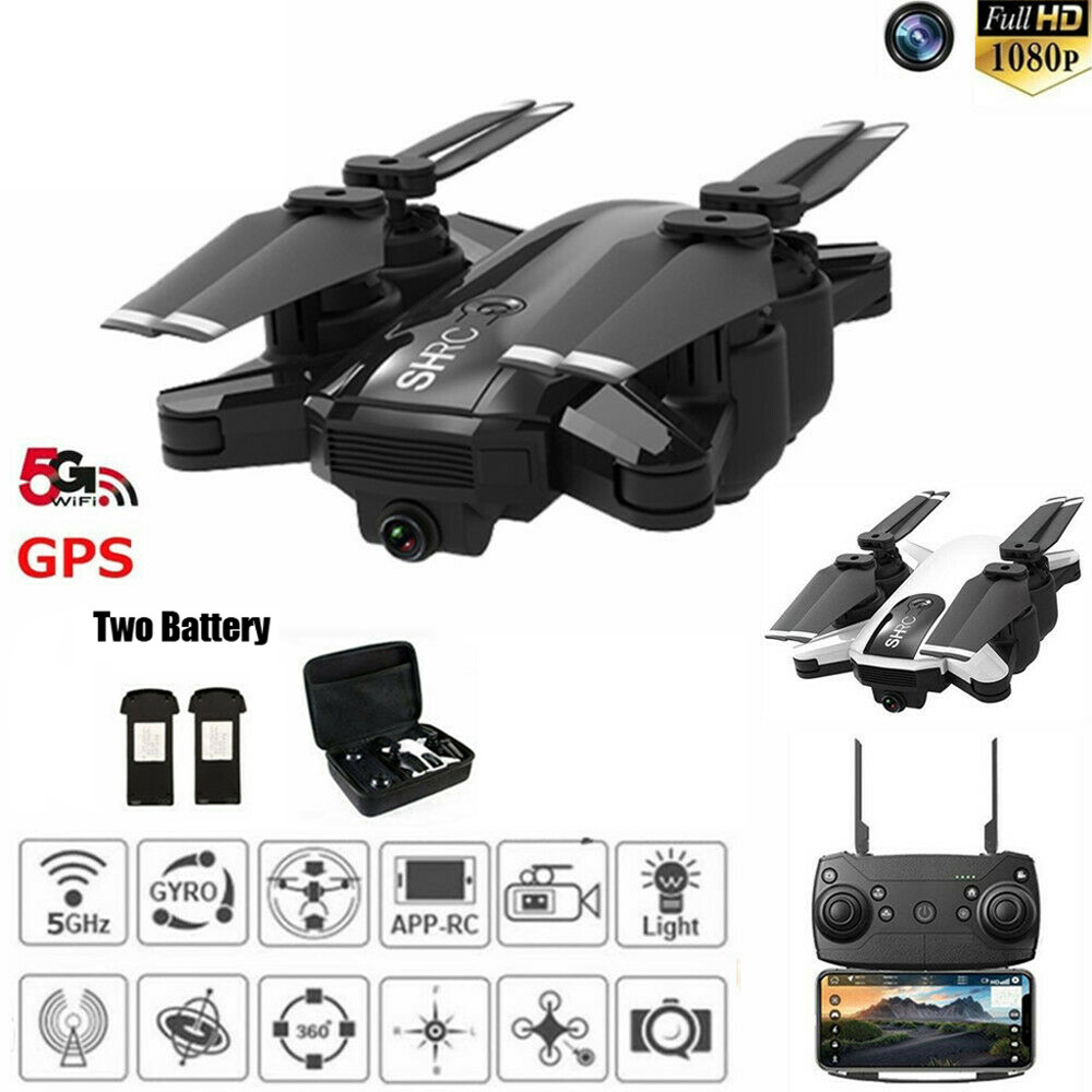 Drone Quadcopter 2020 Hot Drone x pro 5G Selfi WIFI FPV GPS With 1080P HD Camera Foldable RC Quadcopter Toys Drohne Dron image