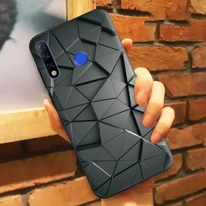 Чехол 6,52 дюйма для Tecno Camon 12, силиконовый мягкий ТПУ чехол для телефона Tecno Camon 12, чехол, геометрический пейзаж, защитный чехол, бампер