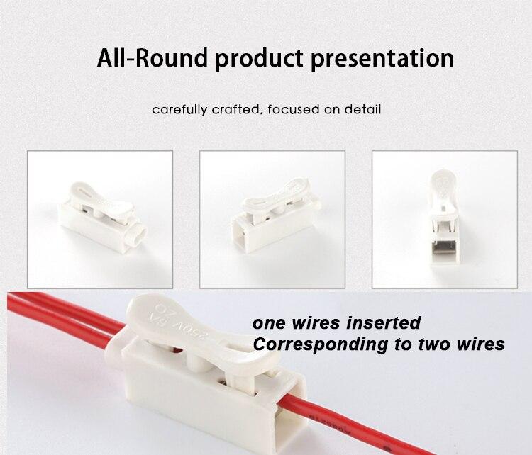 bloqueio conector branco cabo elétrico terminais bloco