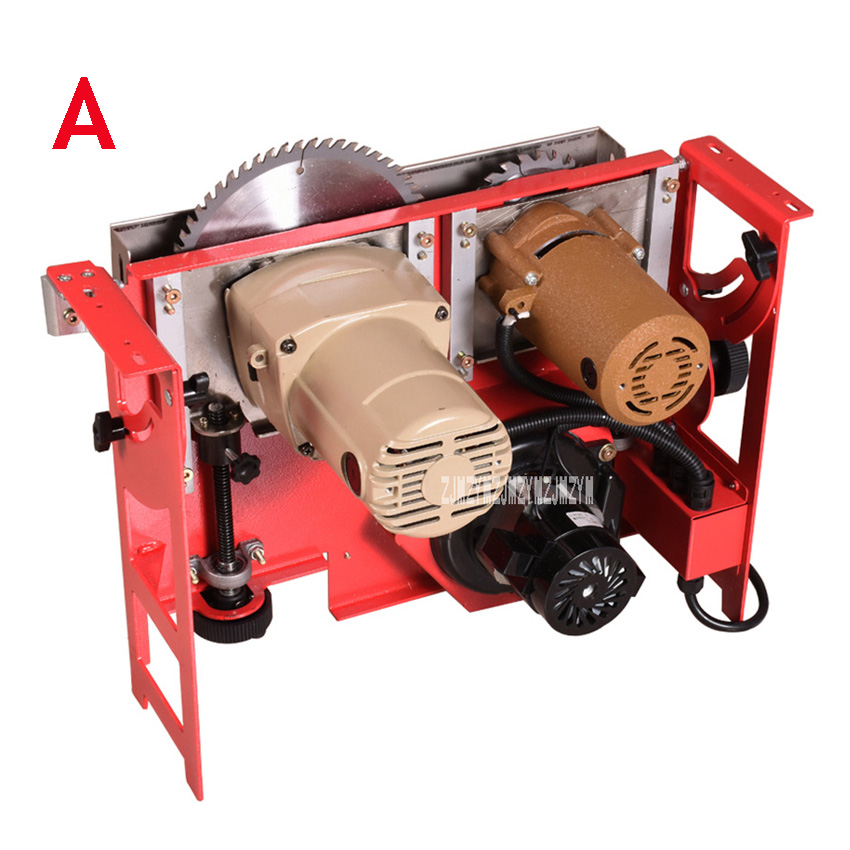 KW-96 Multifunctional Woodworking Table Saw Dust-free Electric Circular Saw Home Decoration Woodworking Machinery Table Saw 220V