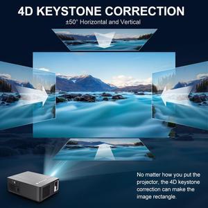 Image 2 - Vivicine Proyector de cine en casa 2020 M20, opción de Android 1080, x 1920 9,0, Full HD, LED, vídeo Multimedia, 1080p