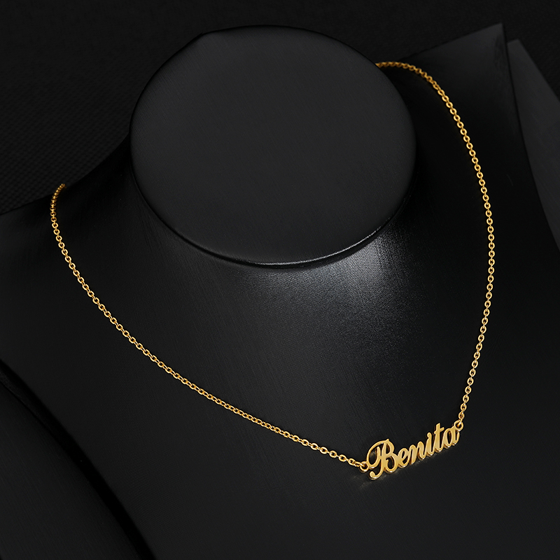Fascinating Charm Necklaces Pendents For Women Stainless Steel Jewelry Custom Name Necklace BFF Collares Mujer Bijoux Femme 2019