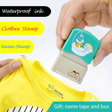 Name-Stamps Clothes-Seal-Stamp Teacher Custom Children Sticker DIY for Postage Personalized