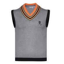 New Winter Men Sport Sleeveless Vest MARK&LONA Golf Sweater Vest 3 Color Golf Clothes S-XXL Sporin Choice Leisure Golf Vest