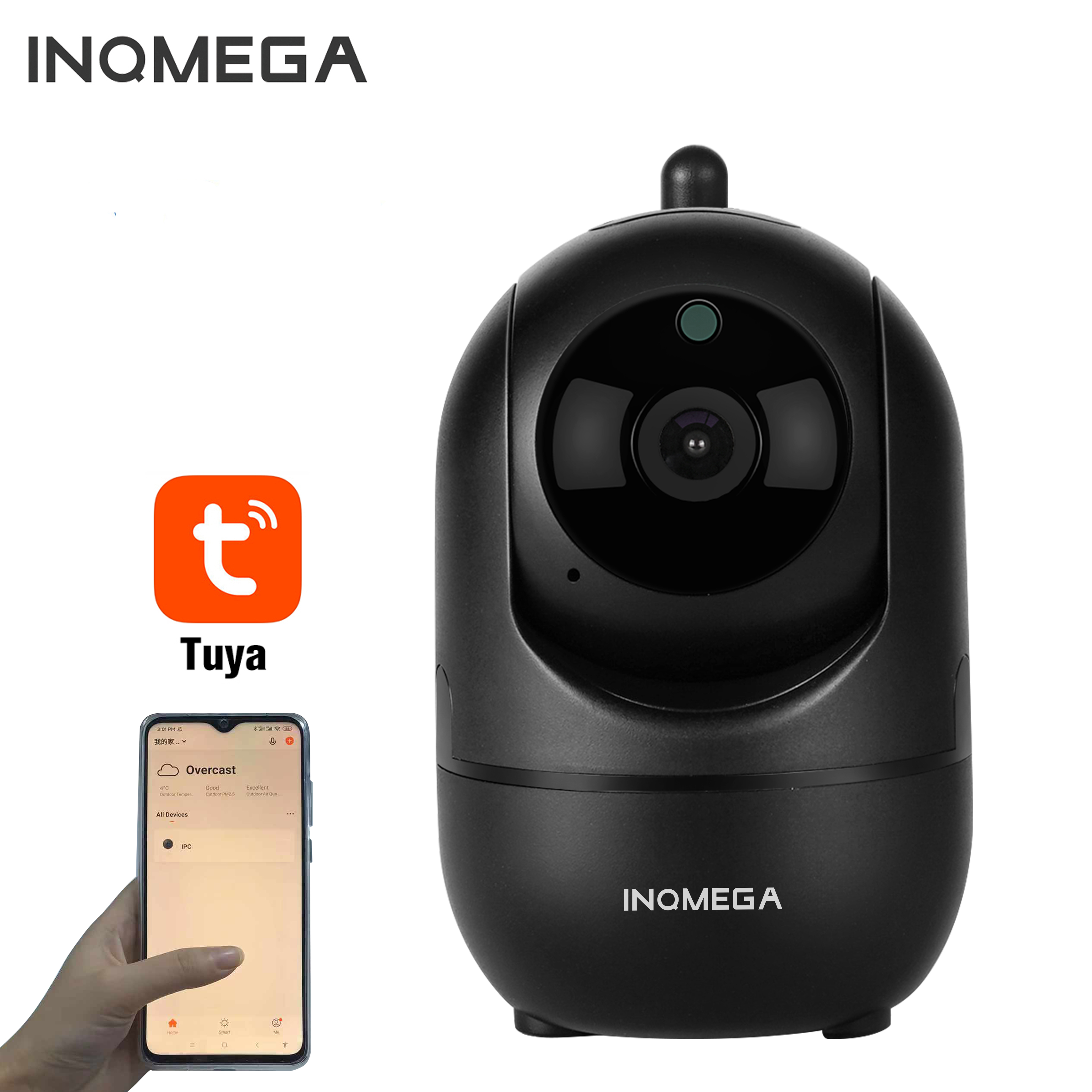 INQMEGA TUYA IP Camera Home Security Surveillance Camera CCTV Network Wifi Kamera Wireless 1080P Cam