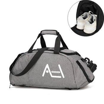 Multifunction Sports Handbags Men Women Travel Weekend Luggage Casual Suitcase Large Capacity Duffel Shoulder Tote Bags S004 - discount item  48% OFF Travel Bags