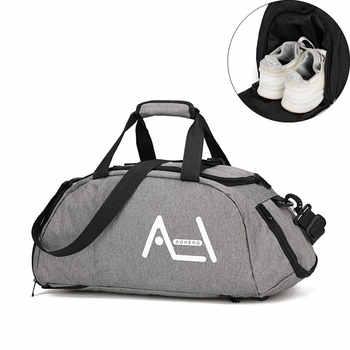 Multifunction Sports Handbags Men Women Travel Weekend Luggage Casual Suitcase Large Capacity Duffel Shoulder Tote Bags S004 - DISCOUNT ITEM  47 OFF Luggage & Bags