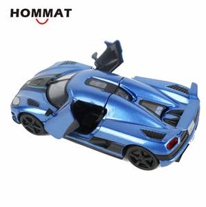 Image 5 - Hommate моделирование 1/32 Supercar Koenigsegg Agera R спортивный сплав 1:32 Diecasts & Toy автомобили модели автомобилей игрушки для детей