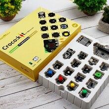 Программа Интеллектуальный робот датчик стартовый набор паровое Программирование игрушки Образование макетная плата расширения для микро: бит