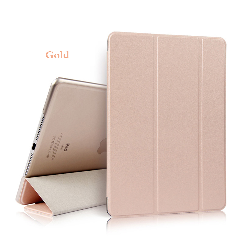 Gold Gold Tablet Case For iPad Air 4 10 9 2020 PU Leather Tri fold Cover For iPad