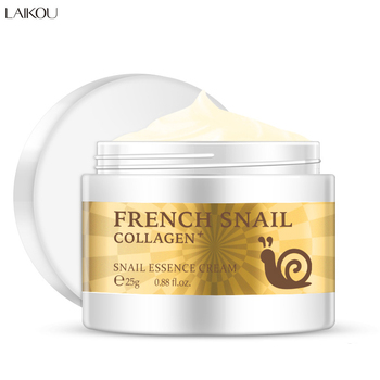 Snail Face Cream Beauty Skin Care Cosmetic Day Cream Hyaluronic Acid Moisturizer Anti Wrinkle Aging Nourishing Face Care snail face cream hyaluronic acid anti wrinkle anti aging facial day cream collagen moisturizer nourishing tight skin serum care
