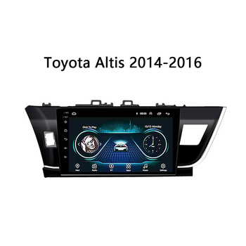 "Car radio for Toyota Corolla Altis 2014 2015 2016 multimedia stereo system gps navigation unit SWC WIFI Android 8.1 10"" no din"