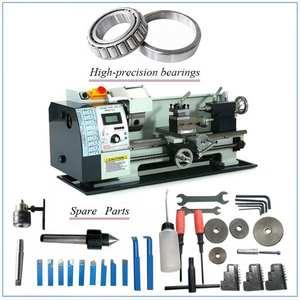 WM210V Digital Metal Lathe/850W Brushless Motor All MetalGear Lathe/38mm Spindle Bore