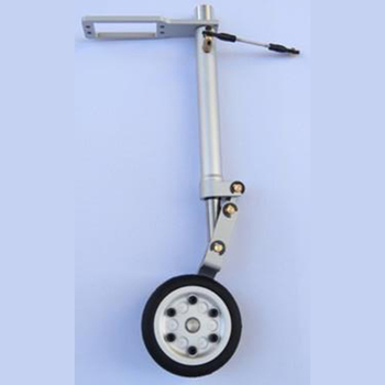 12mm Scale Metal Landing Gear With Wheel Set  Single front wheels 50 or  Double front wheels 50