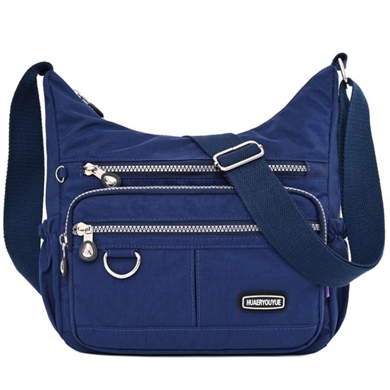 Women's Fashion Messenger Bag Ladies Waterproof Nylon Fabrics Shoulder Bag Handbag Casual Female High Quality Tote Crossbody Bag