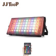 LED Floodlight Outdoor Spotlight 10W 50W Wall Washer Lamp Reflector IP65 Waterproof Lighting Garden RGB Flood Light AC 220V 240V