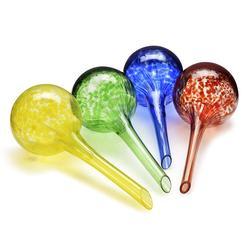 Automatyczne nawadnianie Aqua Globe Mini dekoracyjne ręcznie dmuchane szkło małe żarówki roślinne 4 szt. Luksusowy zestaw|Zestawy do podlewania|Dom i ogród -