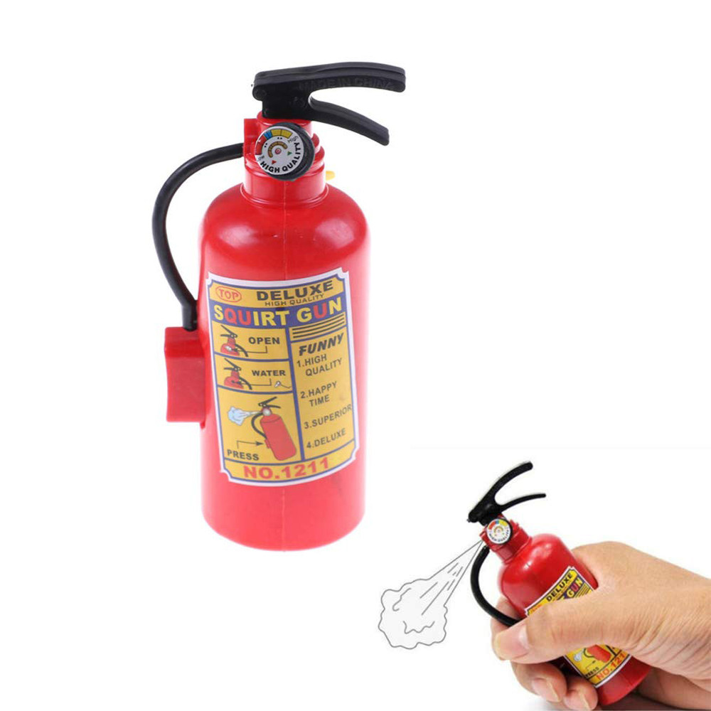 Toys For Children 2 Pcs Squirt Water Toy Fire Extinguisher Children Summer Swimming Water Spray Machine Game Toys Kids Toys